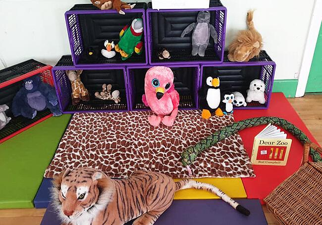 Owl Tree Cafe Themed Role Play Dear Zoo