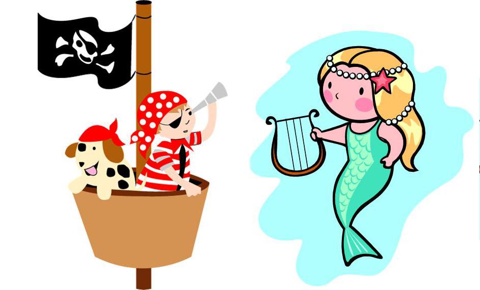 Mermaids and Pirates