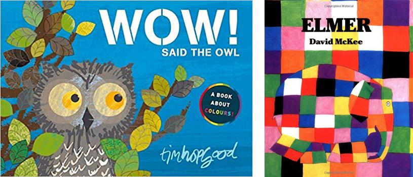 Wow said the Owl and Elmer