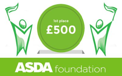 We have won the Asda Gosforth Green Token Scheme!