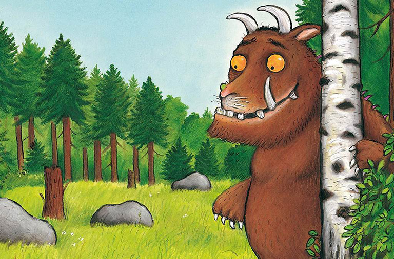 "This weeks theme: ""The Gruffalo"" (Week commencing 4 November 2019)"