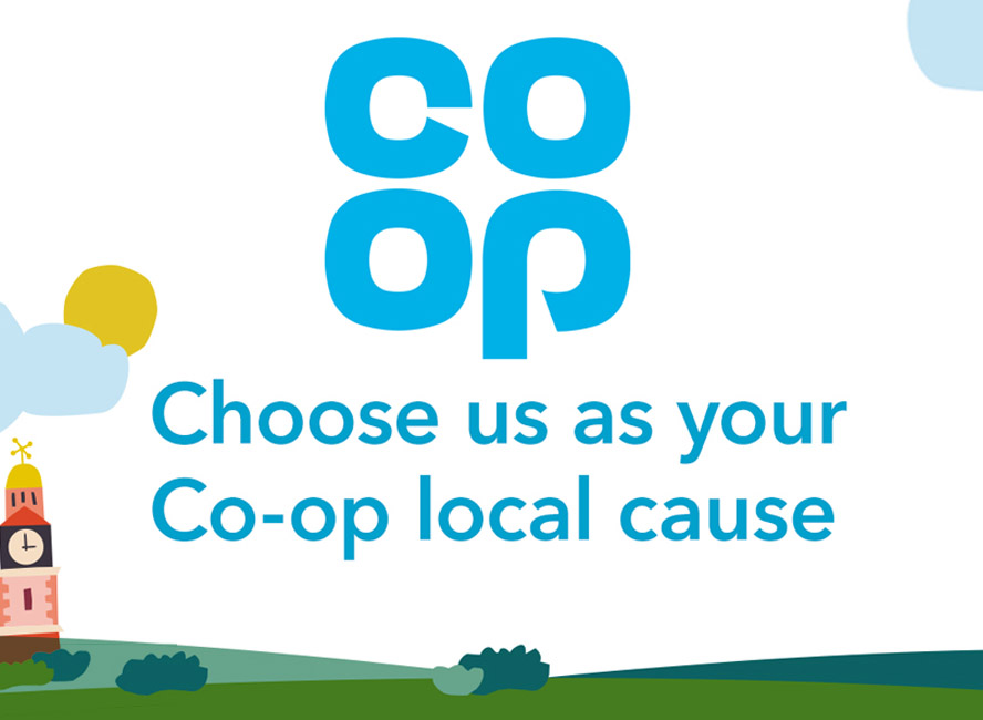 Choose us as your local Co-op cause